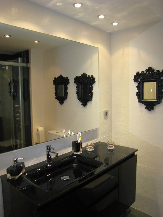Baño Negro Diseño