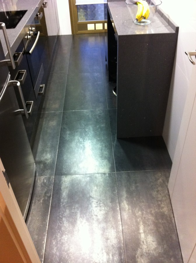 Pavimento de Cocina Serie Metalizada