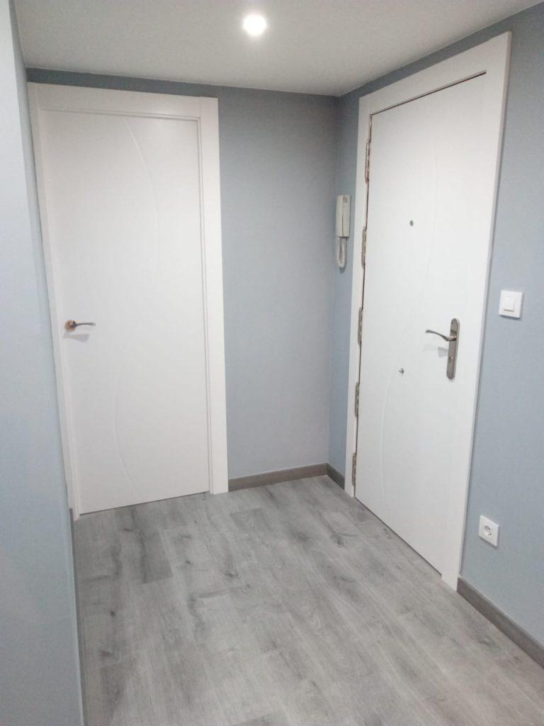 reforma , puerta lacada dumont blanco