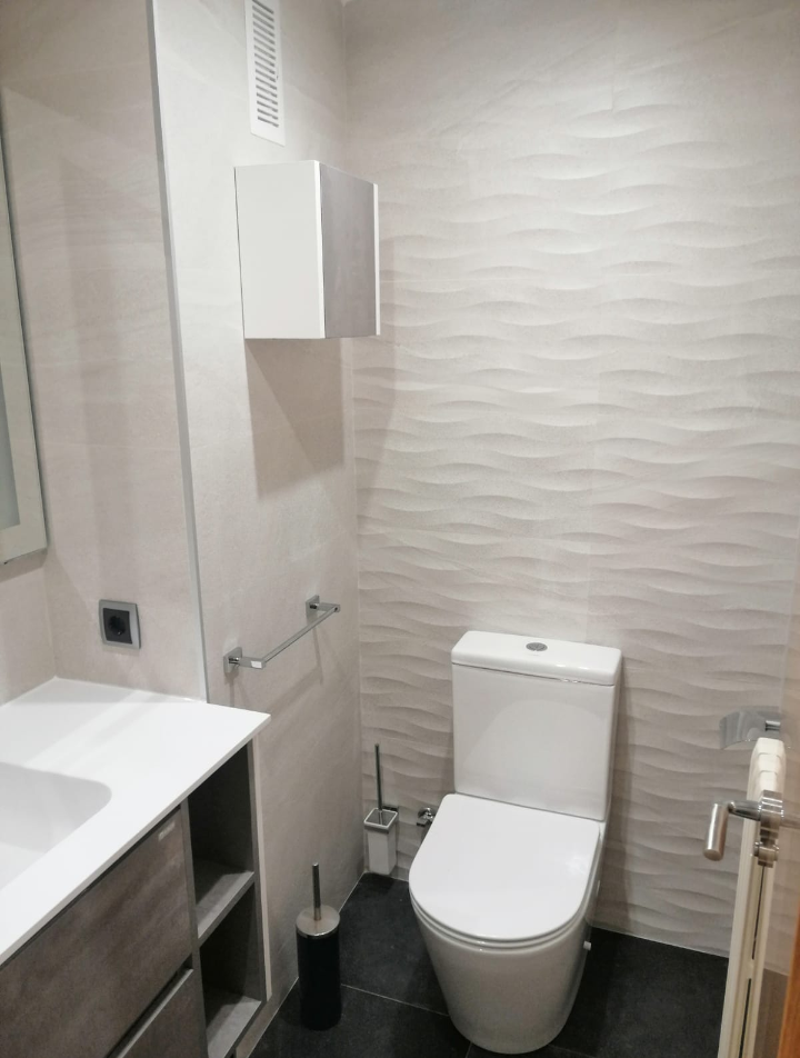 Cerámica rectificada Stoneage concept white